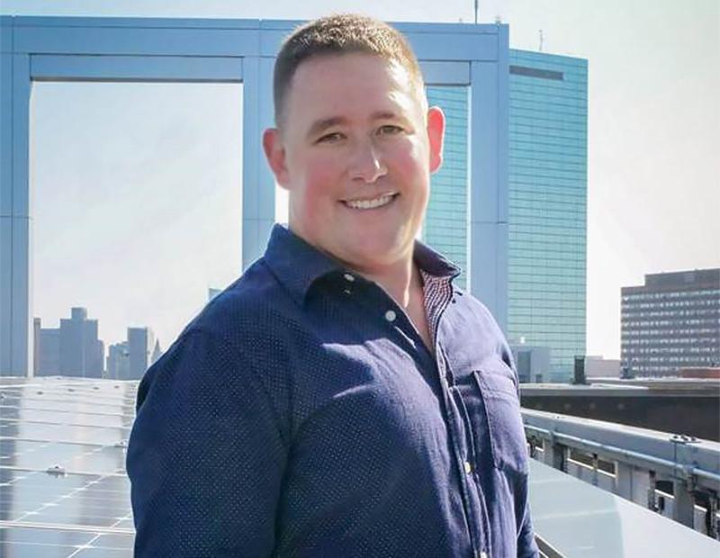 Boston Properties sustainability director Ben Myers