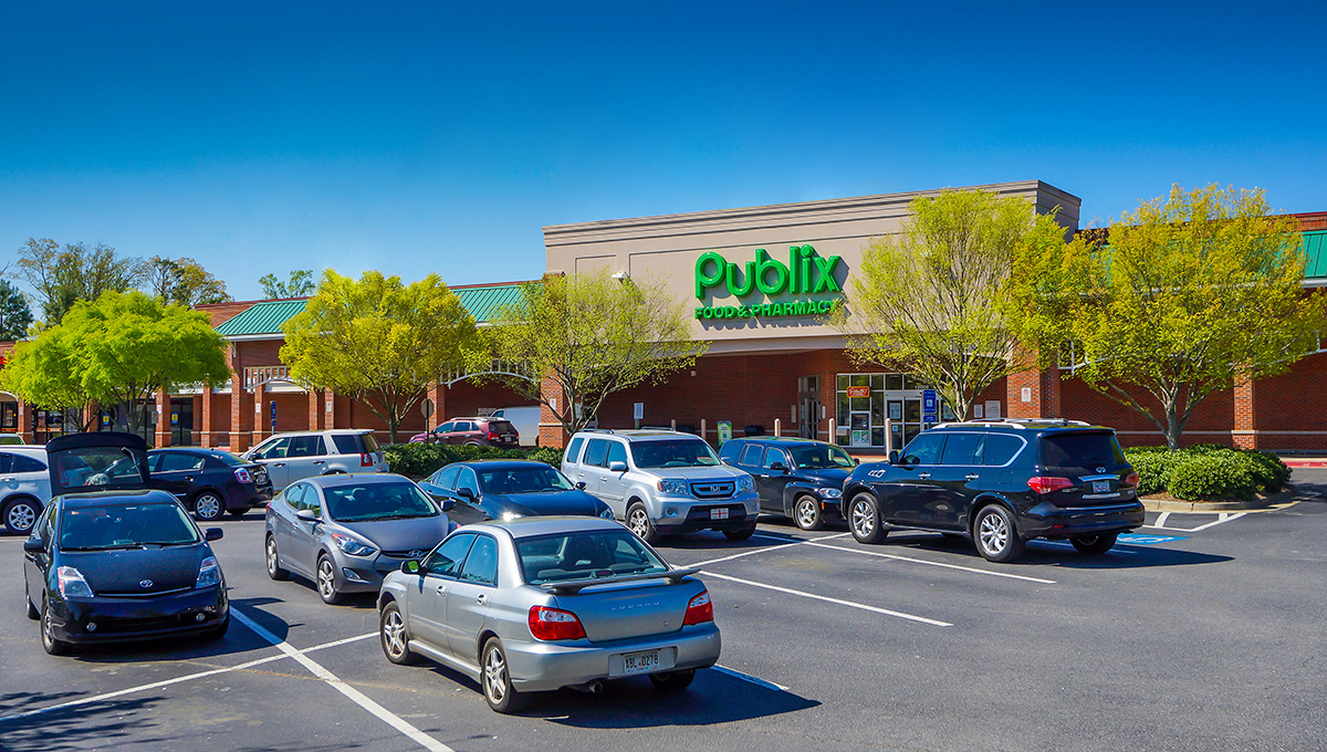 Located in Alpharetta, Ga., Bethany Village is anchored by Publix. Additional tenants of the 81,674-square-foot property include Marco's Pizza, Subway, SuperCuts and Workout Anytime.