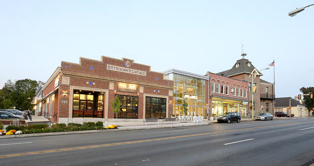 Bryn Mawr Village in Bryn Mawr, Pa. features 35,000 square feet of gross leasable space. Home to Athleta, La Colombe and Bryn and Dane's, the property is located within the Main Line with access to the nearby Bryn Mawr Hospital, Villanova University and Suburban Square.