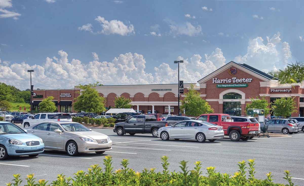 Located in Charlotte's growing suburb of Waxhaw, N.C., Cureton Town Center features 95,577 square feet of space currently occupied by major tenants such as Harris Teeter, Moe's Southwest Grill, Massage Envy and CVS Pharmacy.