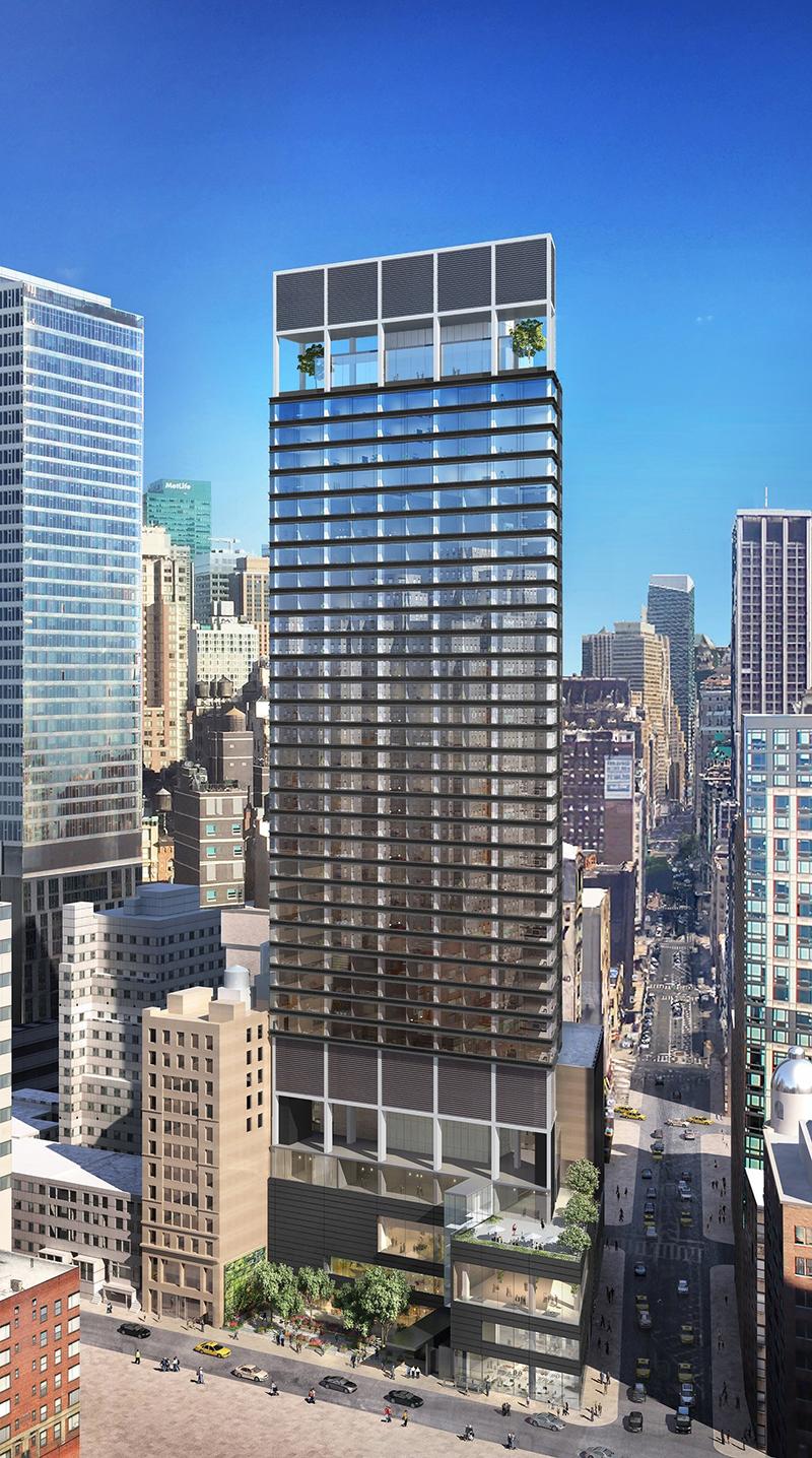 The Ritz-Carlton New York, NoMad. Image courtesy of Marriott International