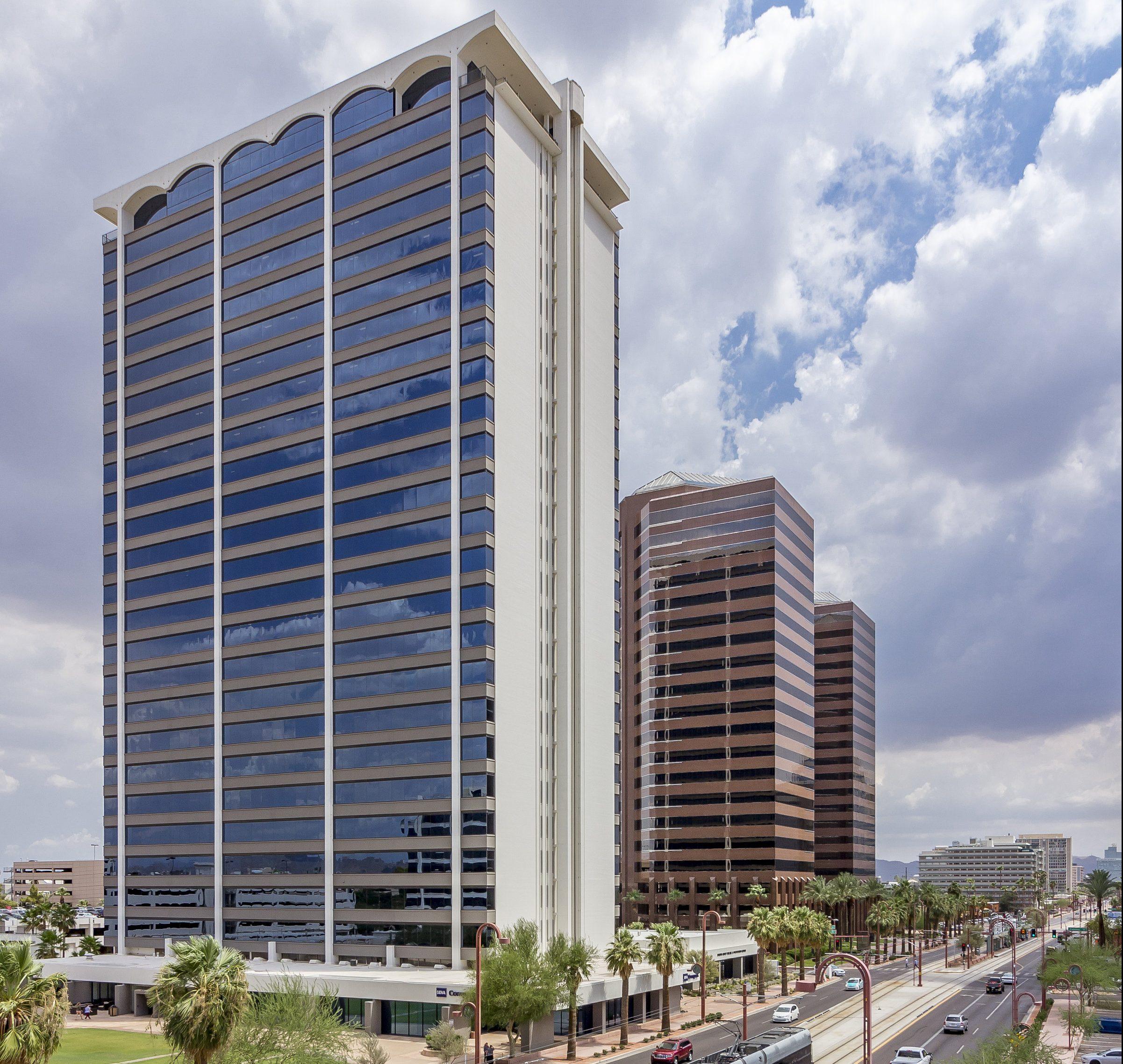 Phoenix Corporate Tower. Photo courtesy of Cushman & Wakefield