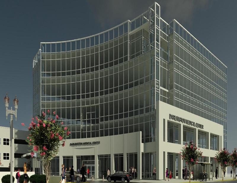 Rendering of Darlington Medical Center.