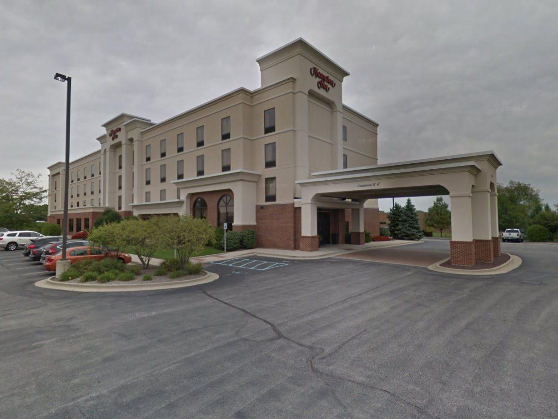Hampton Inn Indianapolis. Image via Google Street View