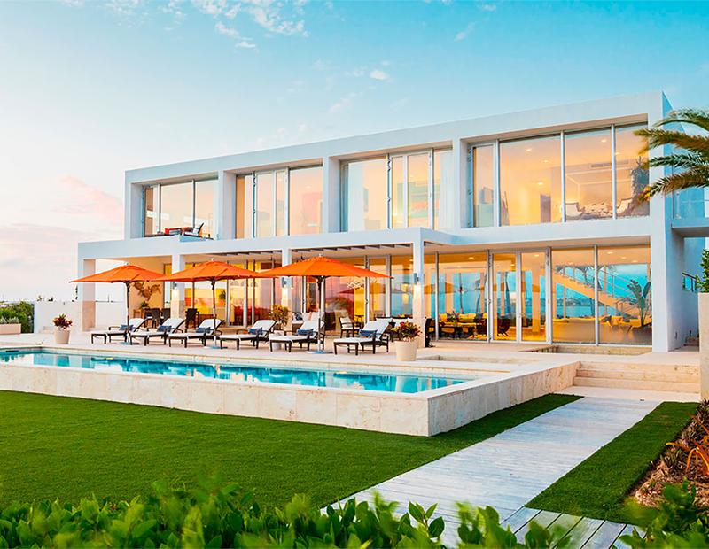 A villa for rent in Champagne Shores, Anguilla, through Marriott's new home-sharing business.