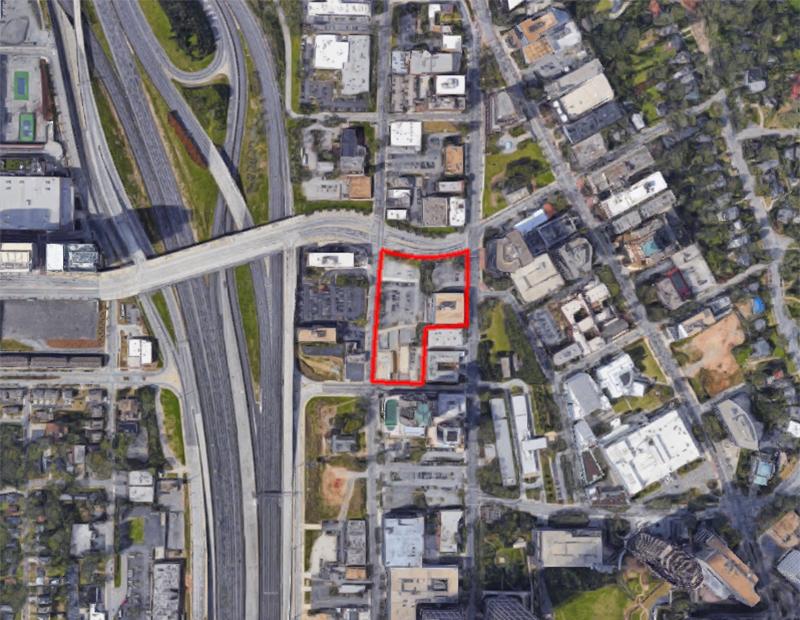 Midtown Union development site.