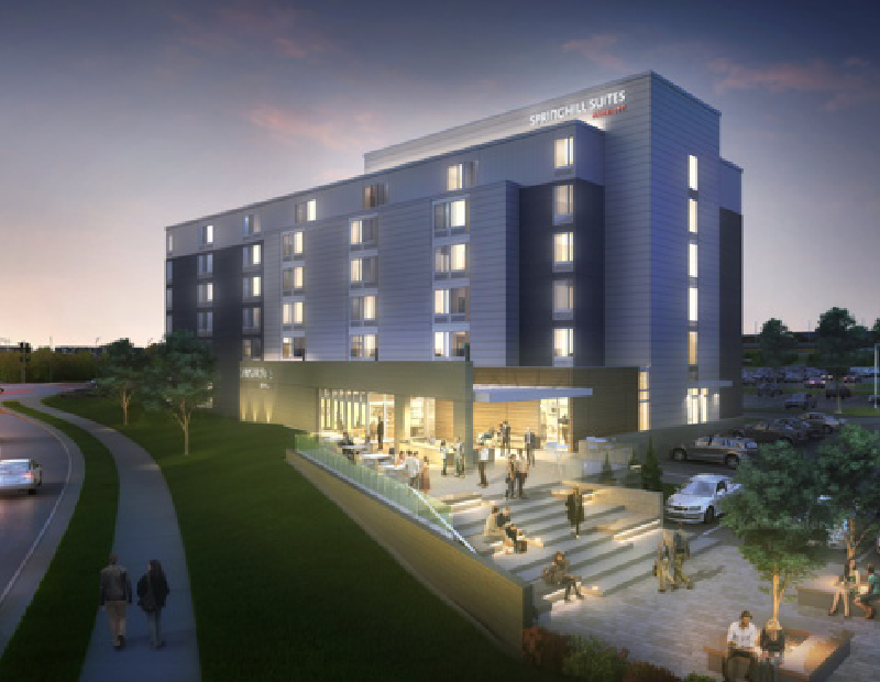 SpringHill Suites by Marriott Milwaukee West/Wauwatosa. Rendering courtesy of Marriott International