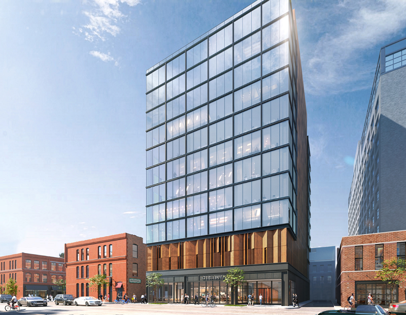 Rendering of Fulton East. Image courtesy of Peoria Green Owner LLC