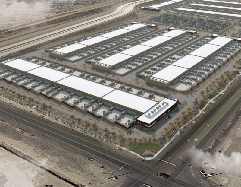 Compass Datacenters in Goodyear, Ariz.. Image courtesy of Compass Datacenters
