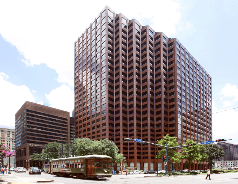 Pan American Life Center. Image courtesy of Stirling Properties
