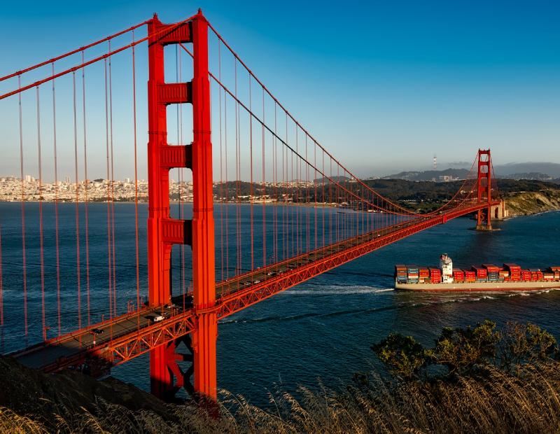 San Francisco Bay Area. Image via Pixabay
