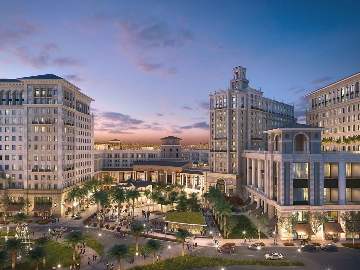 The Plaza Coral Gables. Image courtesy of Newmark Knight Frank