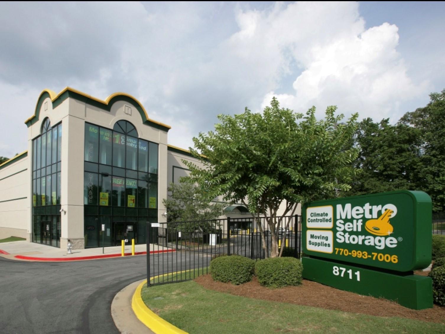 One of Metro's self storage properties in Atlanta. Image courtesy of Talonvest Capital Inc.
