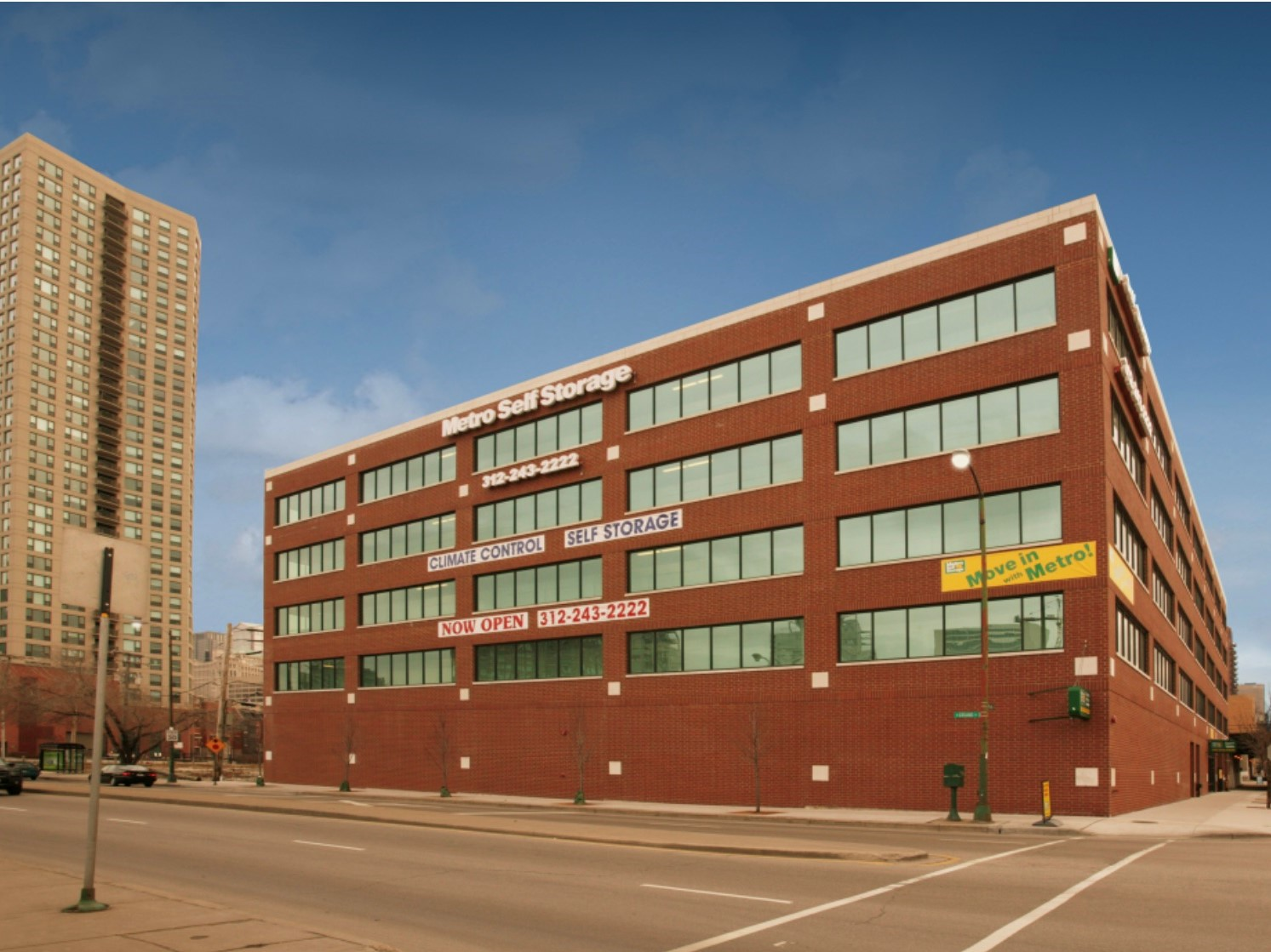 One of Metro's self storage properties in Chicago. Image courtesy of Talonvest Capital Inc.