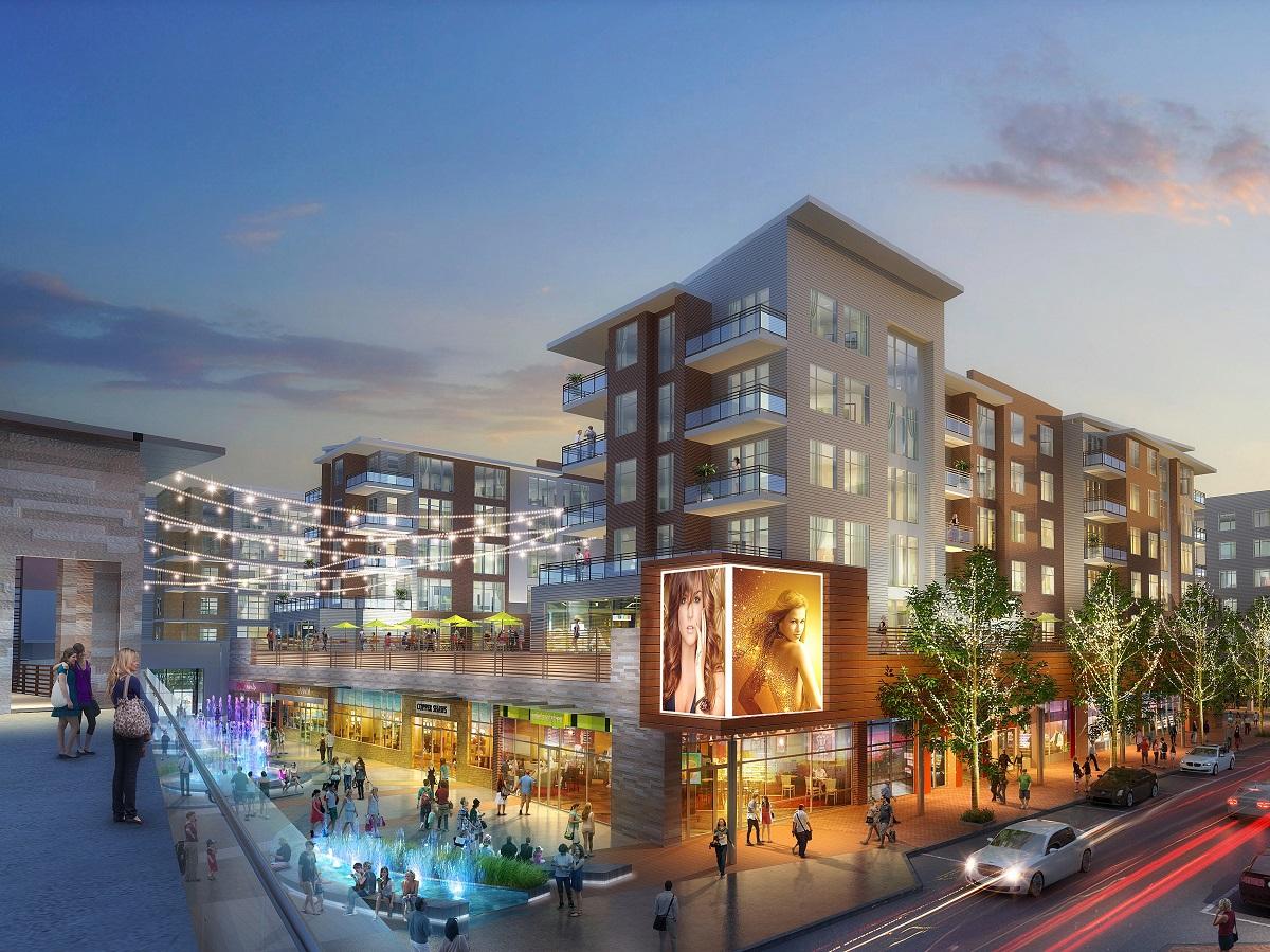 Landmark Mall. Image courtesy of The Howard Hughes Corp.