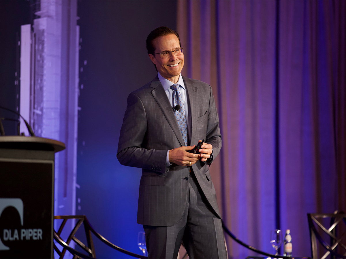 Steve Weikal, Head of Industry Relations at MIT's Center for Real Estate. Image courtesy of Michelle Weeks