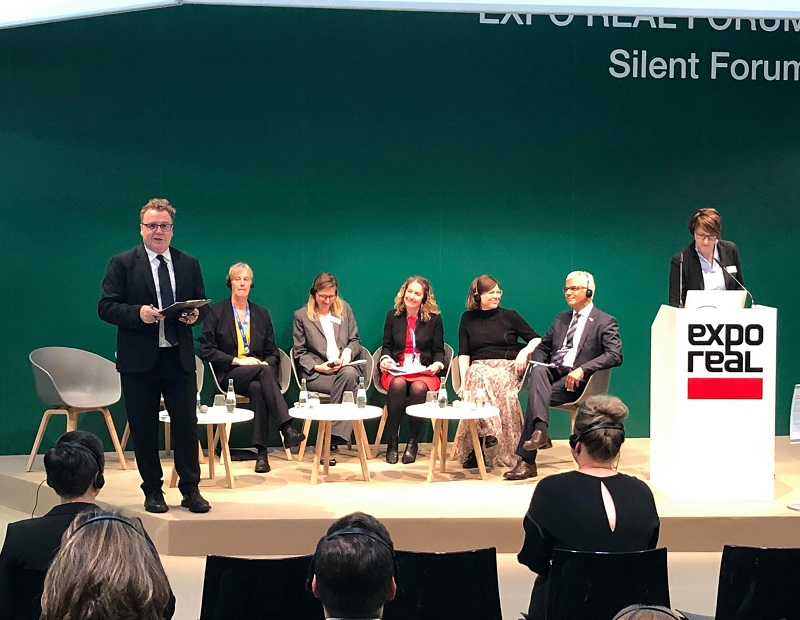 """""""Who is the city for? Making cities work for all."""" panel at Expo Real 2019"""