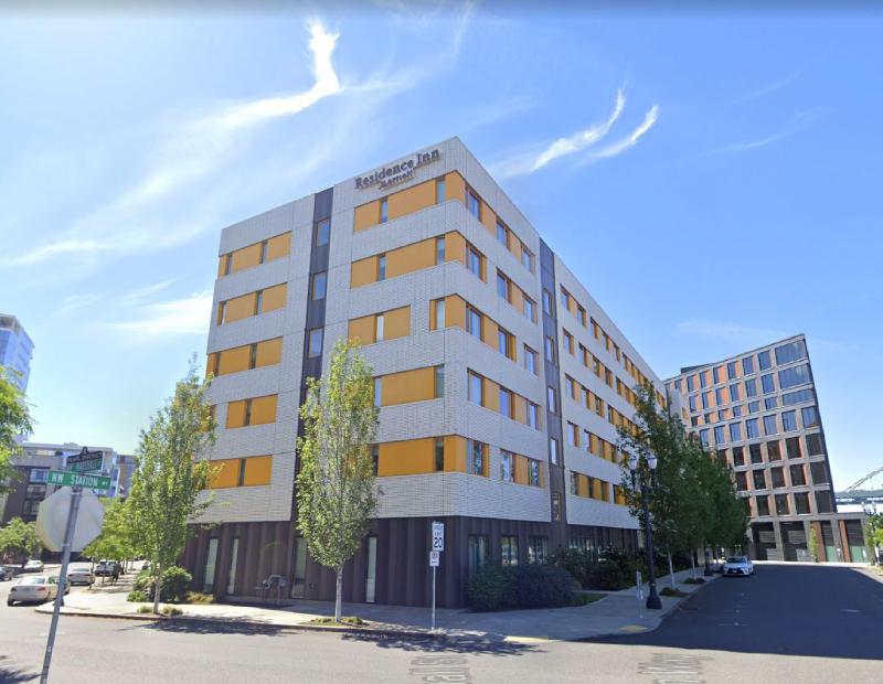 Residence Inn Portland Downtown/Pearl District. Image via Google Street View