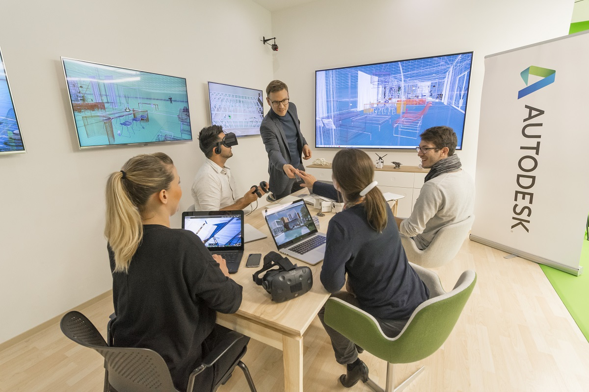 Cutting-edge technology puts more complex real estate projects on the table and allows design problems to be spotted in the virtual realm before they can cause towering headaches. Autodesk Gallery San Francisco. Image courtesy of Autodesk