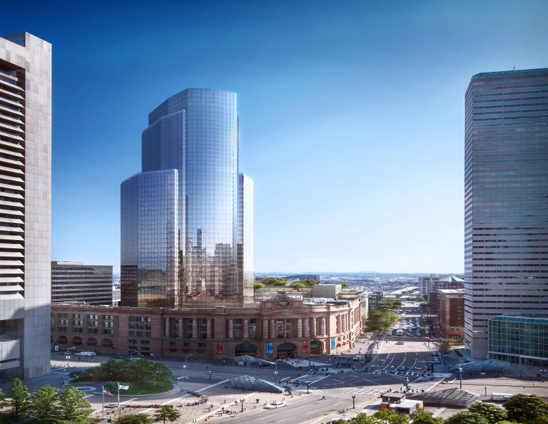 South Boston redevelopment. Image Courtesy of Hines