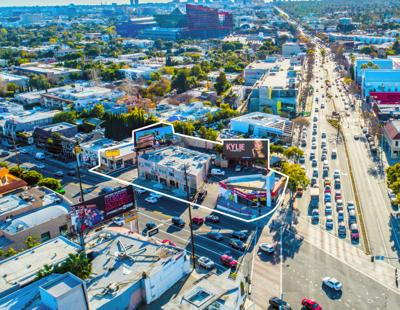 8500 Santa Monica Blvd. Image courtesy of CBRE