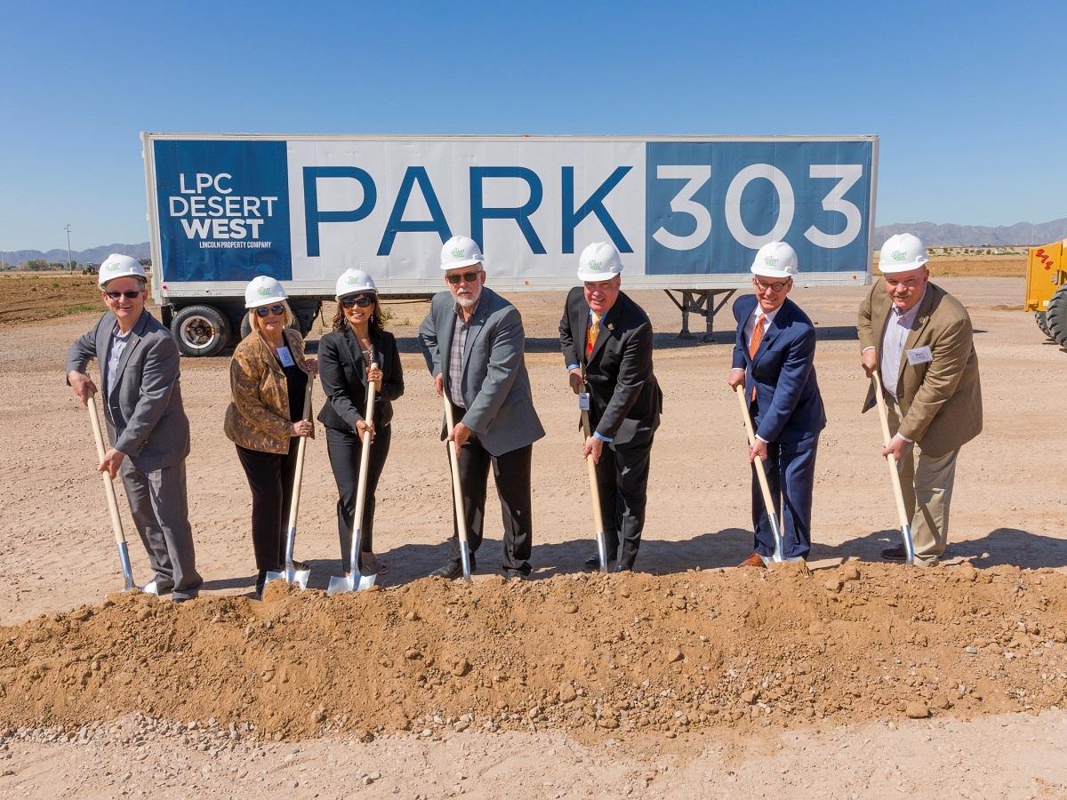 Park303 groundbreaking. Image courtesy of Pete Pallagi.