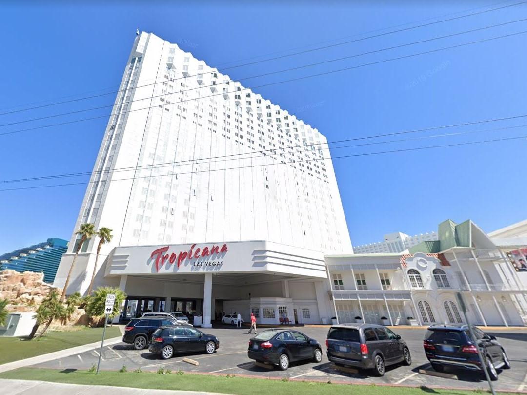 Tropicana Las Vegas. Image via Google Street View