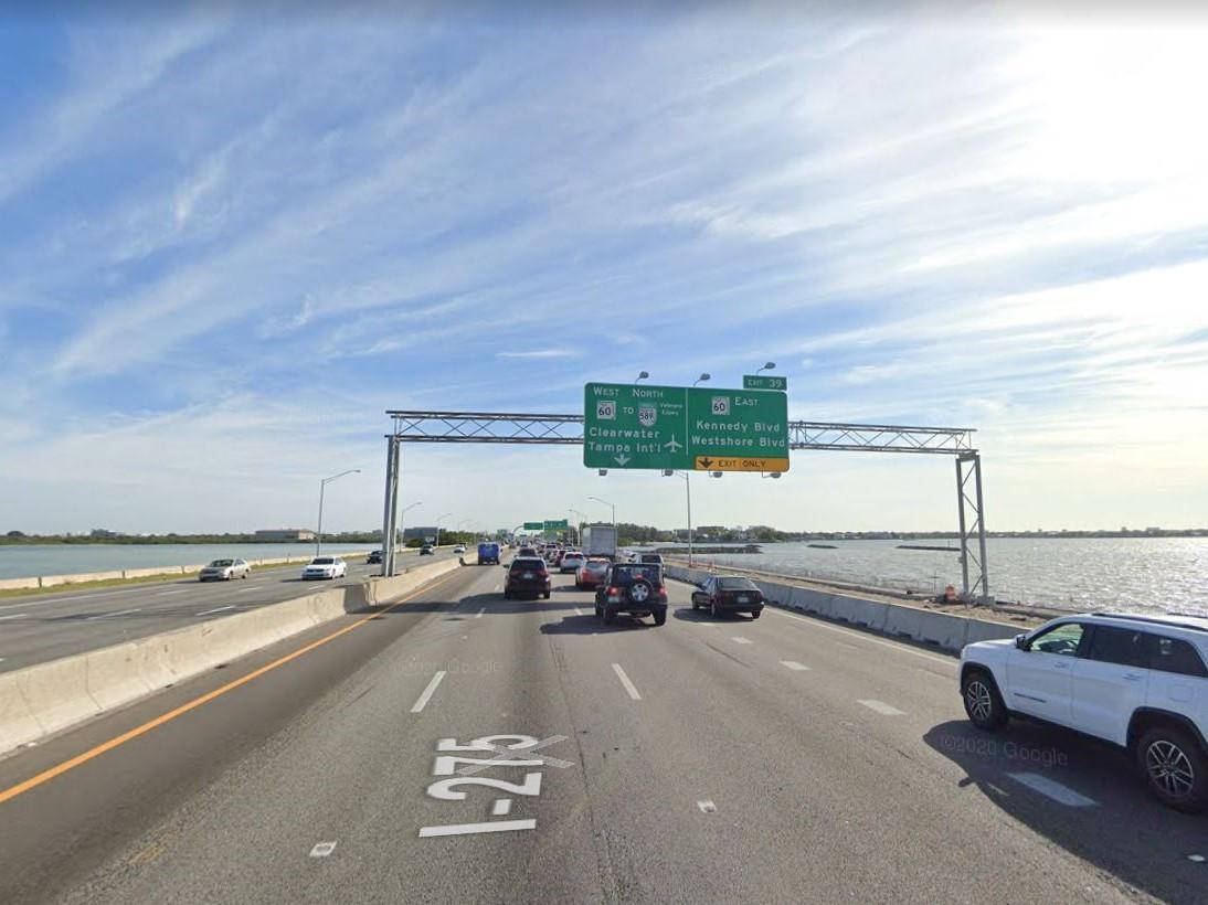 Howard Frankland Bridge. image via Google Street View