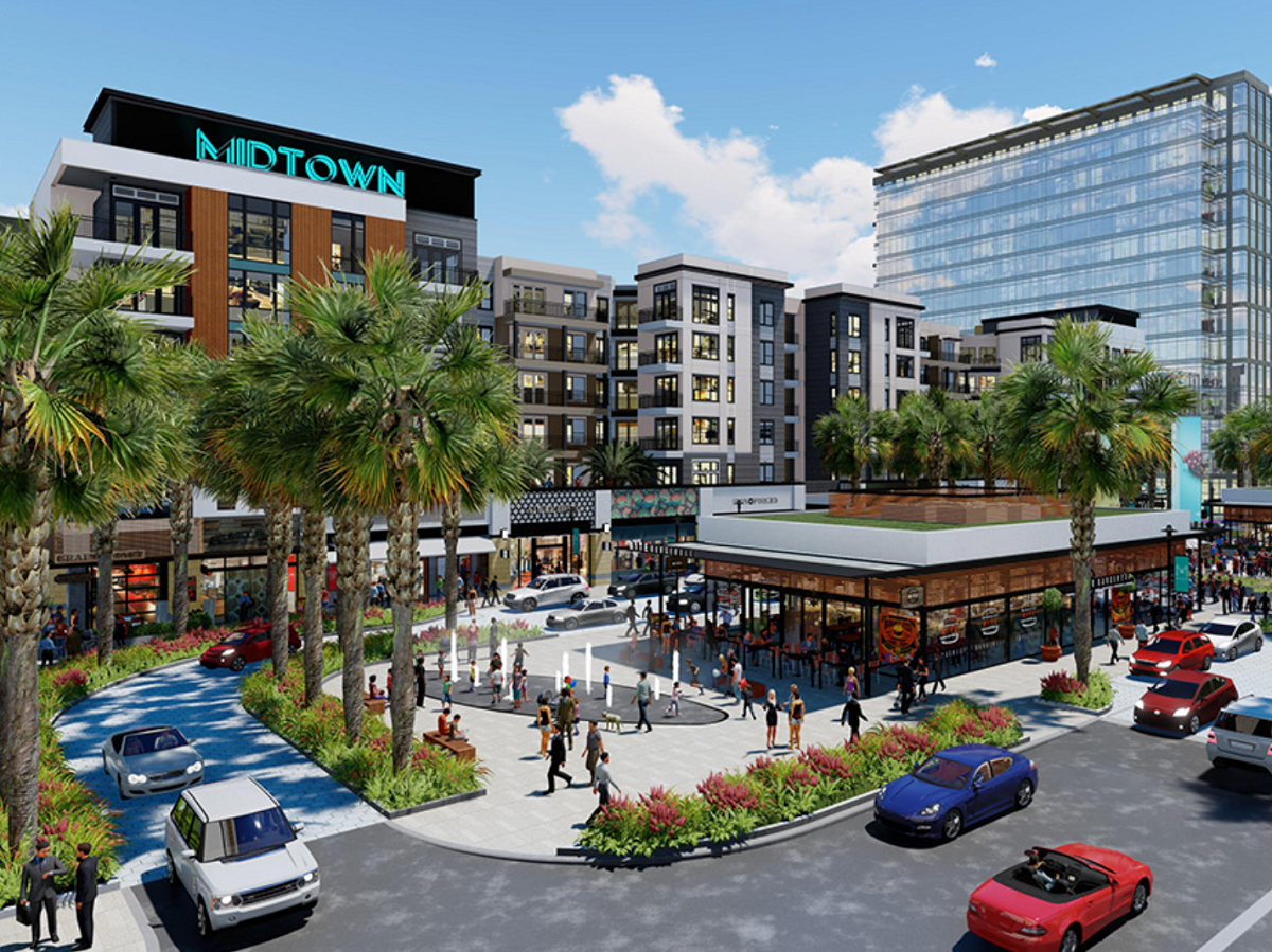 Midtown Tampa. Image courtesy of Bromley Cos.