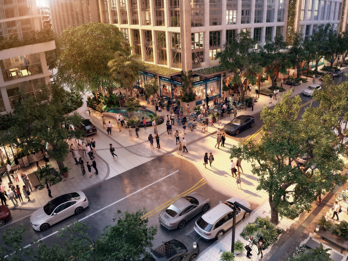 Water Street Tampa. Image courtesy pf Strategic Property Partners