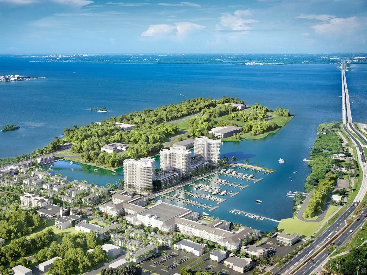 Westshore Marina District. Image courtesy of BTI Partners