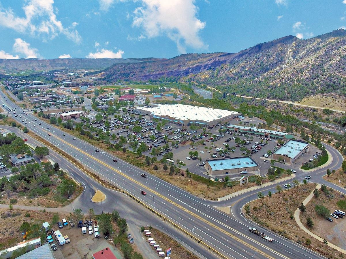 Durango Town Center. Image courtesy of Marcus & Millichap