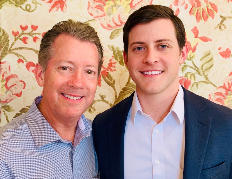 (From left to right) Kevin Erck, John Erck. Image courtesy of Lee & Associates