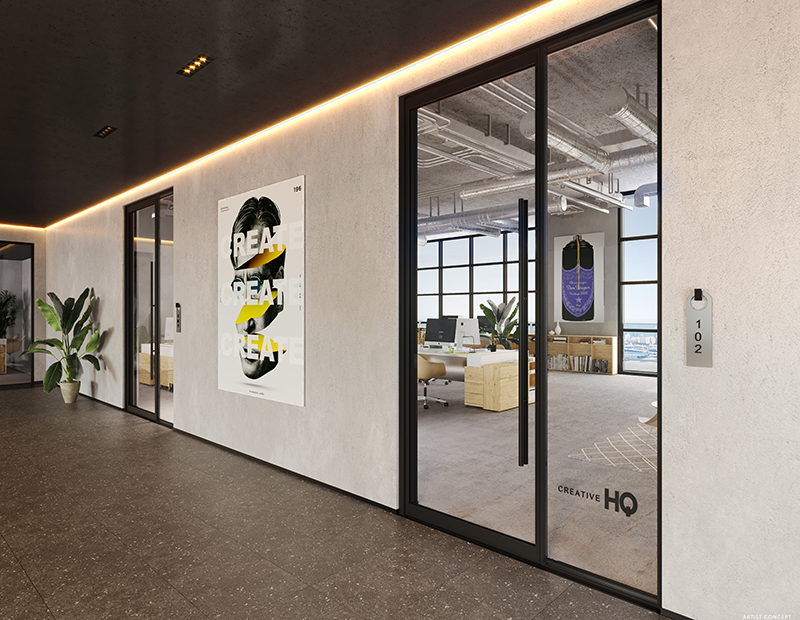 Creative HQ. Image courtesy of One Commercial Real Estate