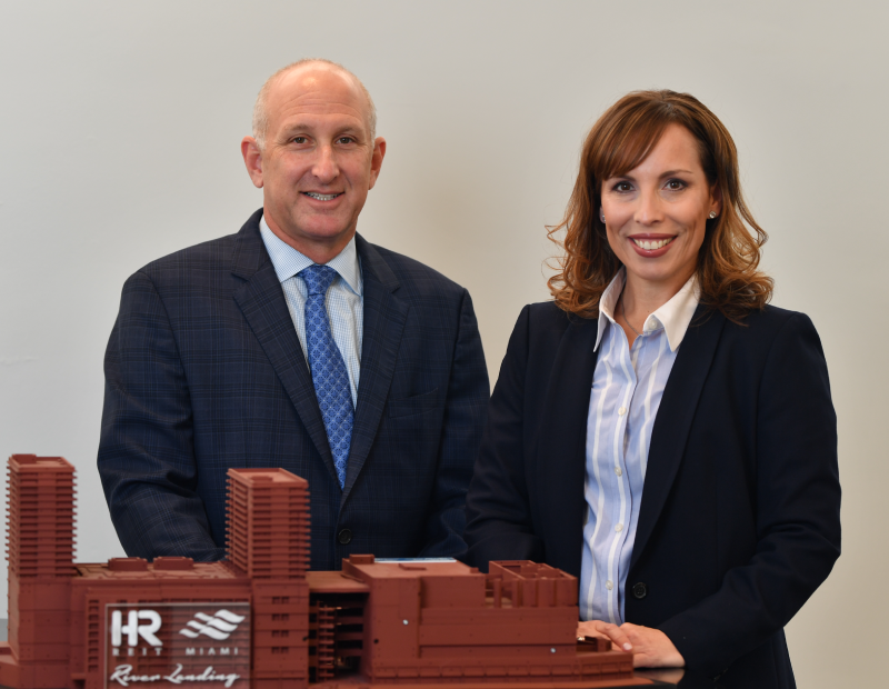Andrew Hellinger and Coralee Penabad. Image courtesy of Urban-X Group