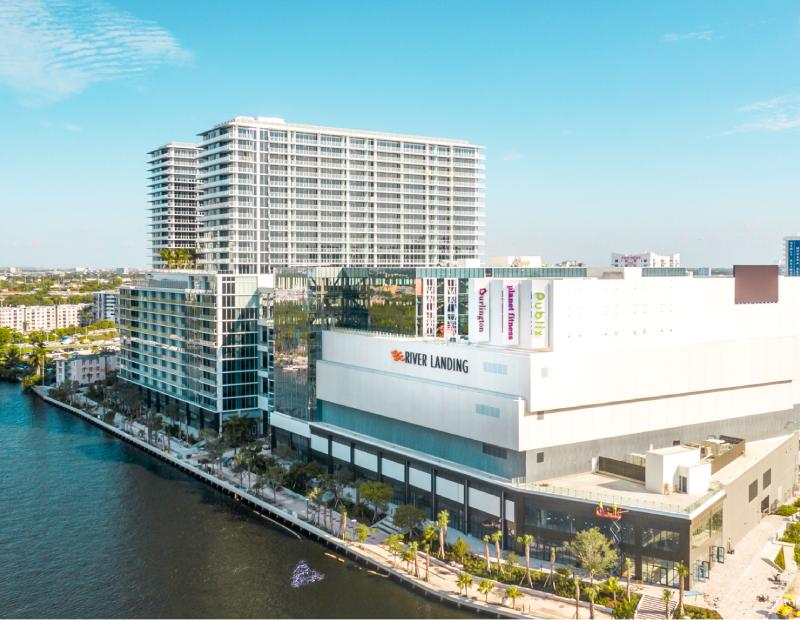River Landing Shops & Residences. Image courtesy of Urban-X Group