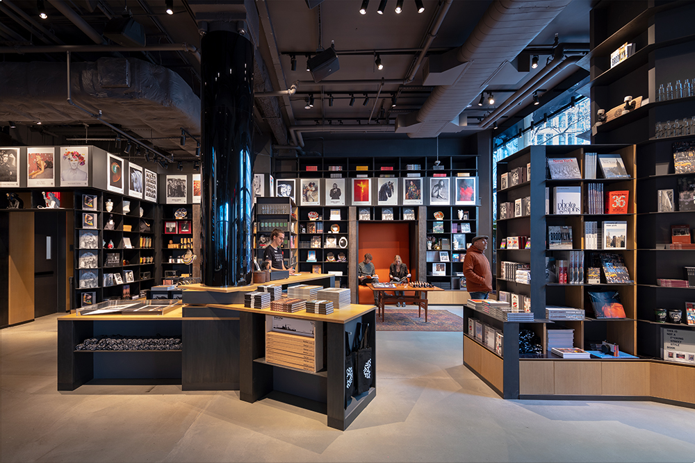 CetraRuddy designed Fotografiska, a contemporary photo museum in a landmarked Flatiron District building that opened just before the pandemic shutdown. Photo by David Sundberg/ESTO_Courtesy of CetraRuddy