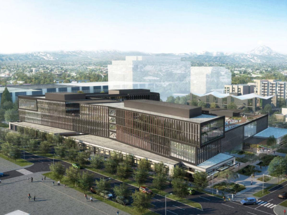 REI Co-op Bellevue Campus. Image courtesy of Wright Runstad & Co.