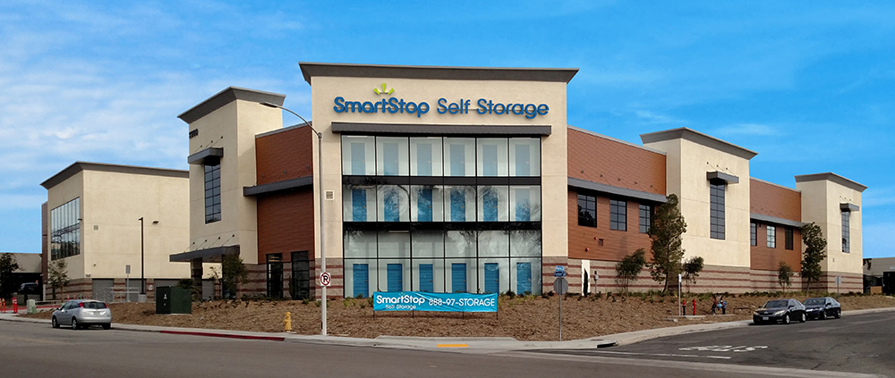 SmartStop Self Storage has a portfolio of 14 branded operating properties including this facility in Chula Vista, CA. An additional 20 sites are in the pipeline in the Greater Toronto Area. Image courtesy of SmartStop Self Storage