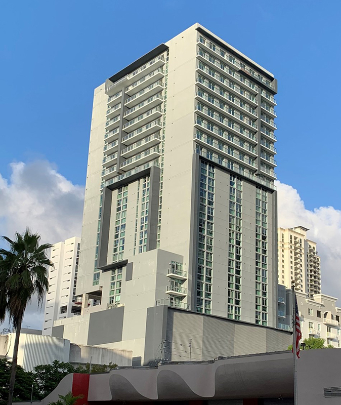 The first Atwell Suites is now under construction in the Miami neighborhood of Brickell at 145 SW 11th Street.