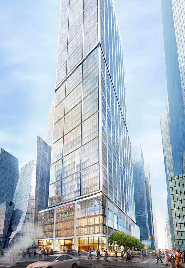 50 Hudson Yards. Rendering courtesy of Related Cos.