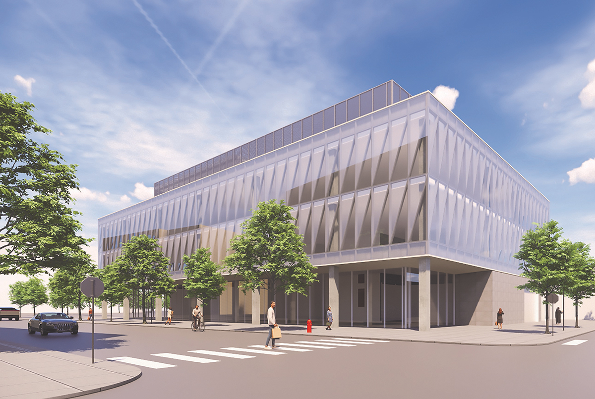 Cambridge Biotechnology Lab is a life sciences laboratory and office project, new development, sponsored by Cabot, Cabot & Forbes. They raised $14 million on CrowdStreet for their project located in Cambridge, Mass. Courtesy of CrowdStreet