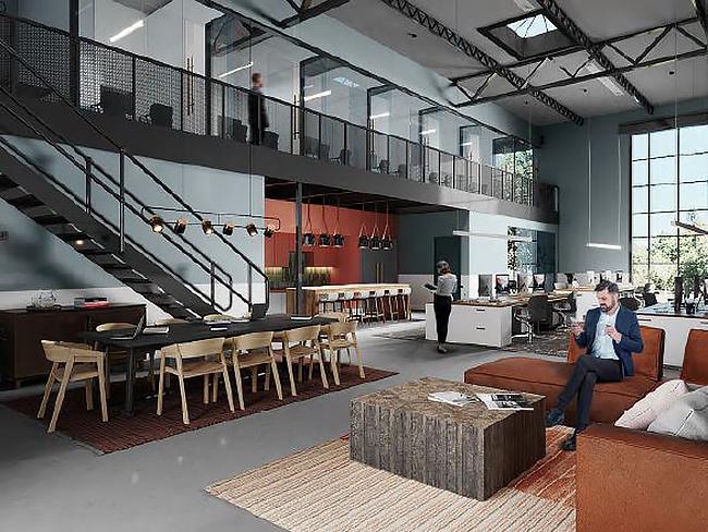 Jamestown Plans Atlanta Mixed-Use Office Project