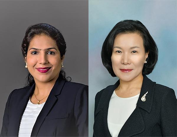 Asha Shettigar, Yunsoo Kim. Images courtesy of FTI Consulting