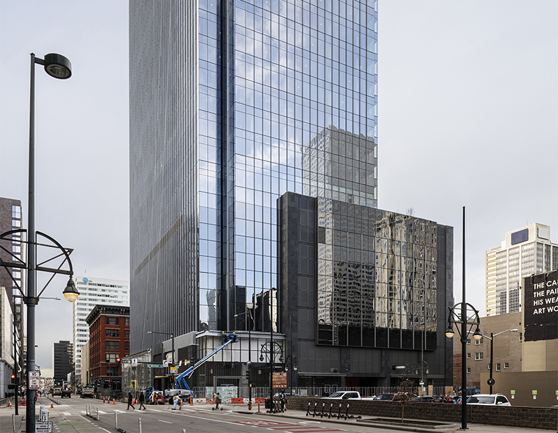Patrinely Group and USAA Real Estate's Block 162 project in downtown Denver