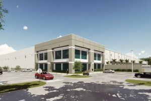 Miami 27 Business Park Building 1. Rendering courtesy of Duke Realty