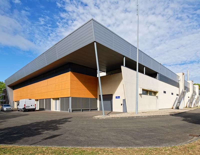 Ascendas REIT data center in Montigny-le-Bretonneux, Paris