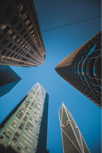 Office towers in San Francisco's Financial District. The city is among those expecting a significant addition of new product. Photo by Jason Barone on Unsplash