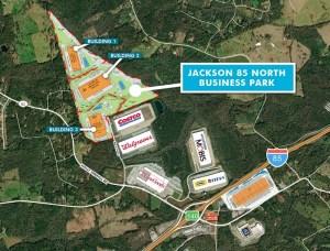 Jackson 85 North Business Park Site Plan